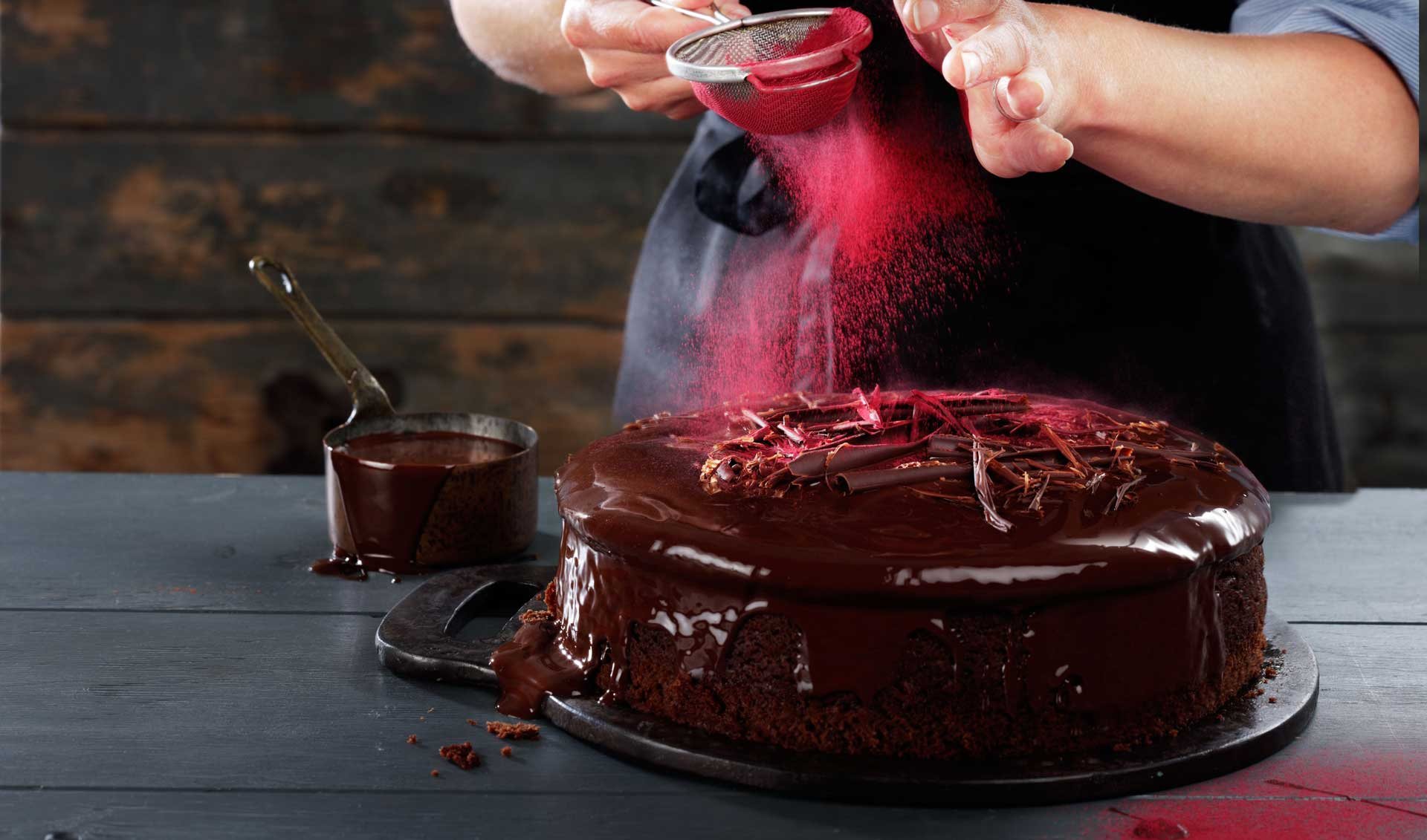 Triple Chocolate and Beetroot Cake