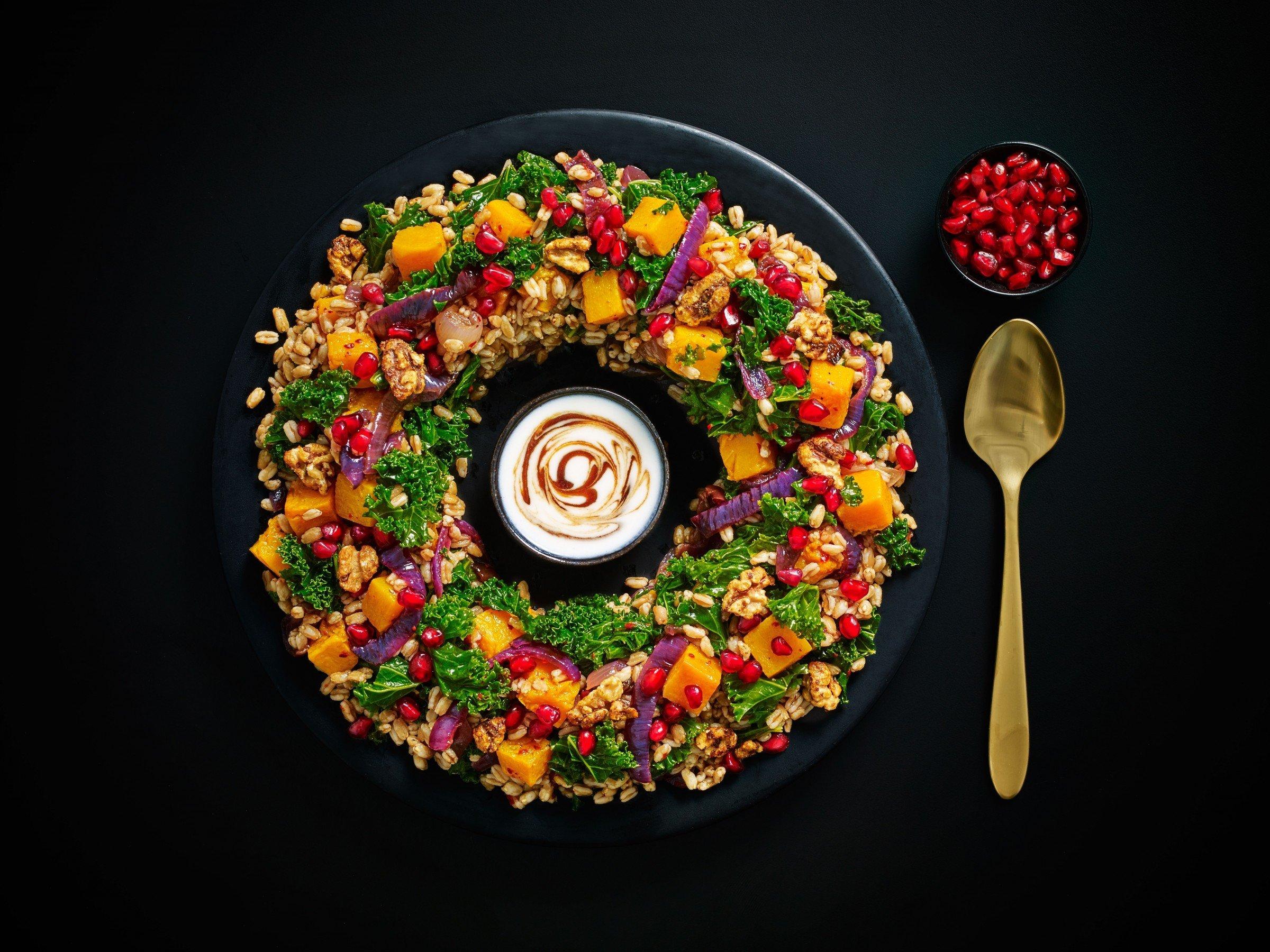 Festive Roast Squash Salad from M&S (2018)