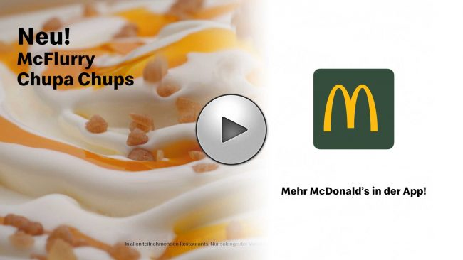Udo Reichelt-Schaurer is Food Stylist for McDonalds - McFlurry-ChupaChups (2019)