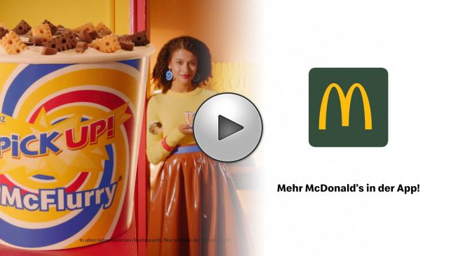 Udo Reichelt-Schaurer is Food Stylist for McDonalds - McFlurry-Pickup (2019)